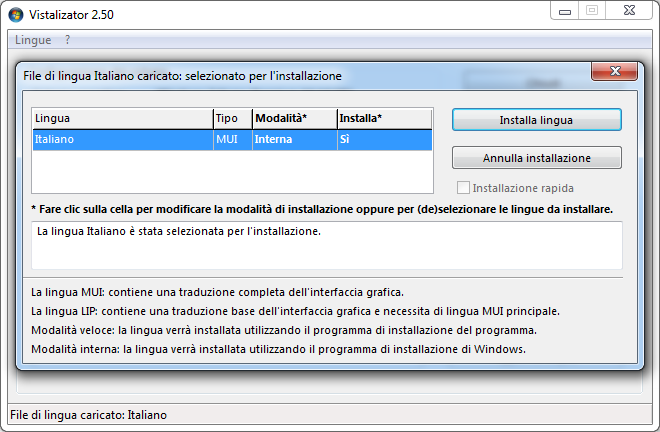Come cambiare lingua Windows 7 o Vista