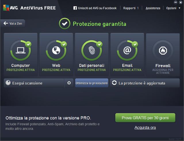 miglior antivirus gratis 2016 AVG