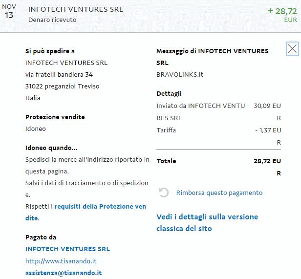 Guadagnare soldi online bravolinks pagamento