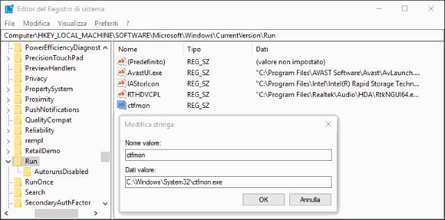 La tastiera non funziona più su windows 10