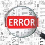 Codice Errore 2203